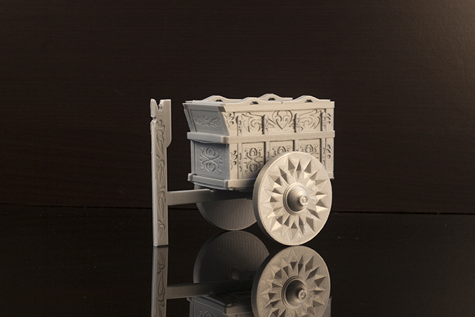 Proyecto de Impresión 3D Prototipo Carreta Típica