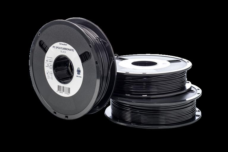 Filamentos Impresion 3d -PC-negro