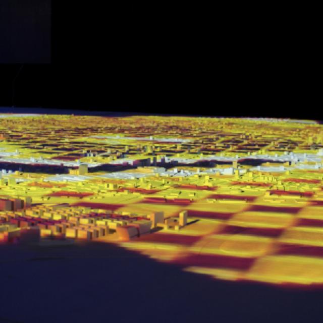 Ciudad 3D impresion 3d