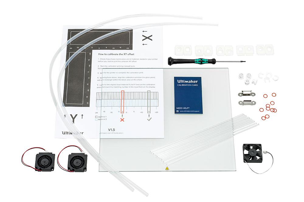 Ultimaker 3 maintenance kit, kit de mantenimiento