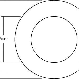 Medidas tubo PTFE 300x300 - Teflon Tube PTFE Blue Tubing (1.5M)