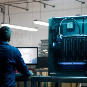 BCN3D Epsilon Series 3D Printer IDEX Dual Big Volume industrial work space connectivity web 300x300 - BCN3D Epsilon W50