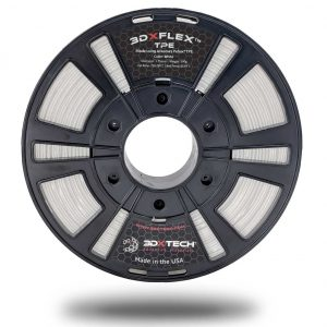 PBAX White 285 500g 300x300 - Filamento 3DXFLEX™ TPE FLEXIBLE - 500gr. 2.85mm