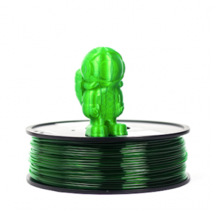 Translucent Green MH PETG 300x300 - PETG - Verde Translucido MH Build Series 1Kg - 2.85