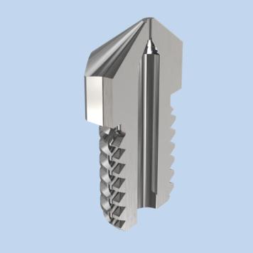 Mirco swiss Hardened Steel Nozzle for Dremel DigiLab 3D45 2 - Micro-Swiss - Boquilla de Acero Reforzado - Dremel DigiLab 3D45 - 1.75x0.4mm