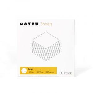 Mayku Form Sheets white 1800px 300x300 - Mayku Form Sheets paquete de 30
