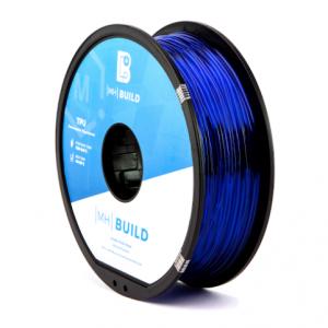 TPU translucentBlue 300x300 - TPU -  Azul Translucido MH Build Series 1kg - 1.75mm