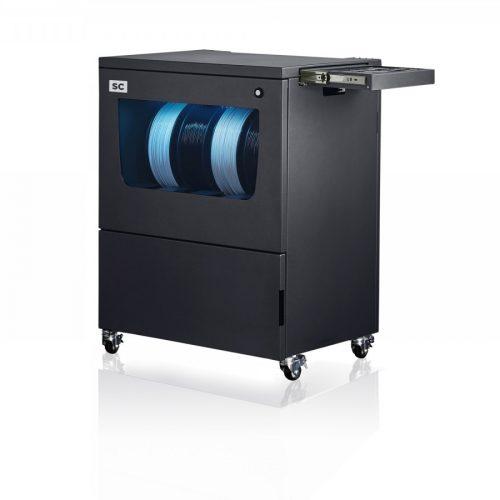 BCN3D Epsilon Series professional 3D Printer SC Smart Cabinet B white web 500x500 - BCN3D Smart Cabinet